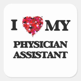 私は私の医者の助手を愛します スクエアシール