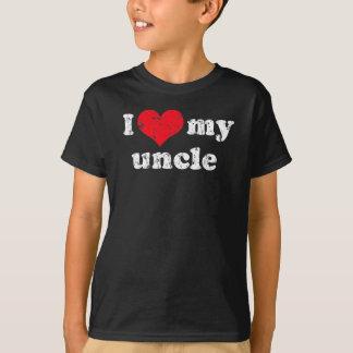 私は私の叔父さんのTシャツを愛します Tシャツ