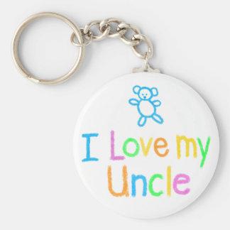 私は私の叔父さんを愛します キーホルダー