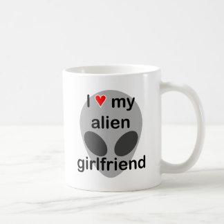 私は私の外国のガールフレンドを愛します コーヒーマグカップ