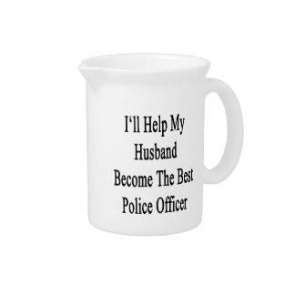 私は私の夫が最も最高のな警察署になるのを救済します ピッチャー