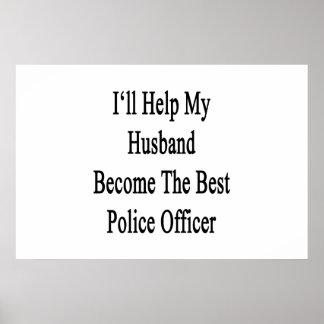 私は私の夫が最も最高のな警察署になるのを救済します ポスター