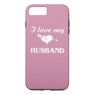 私は私の夫を愛します iPhone 8 PLUS/7 PLUSケース