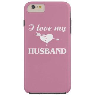 私は私の夫を愛します TOUGH iPhone 6 PLUS ケース