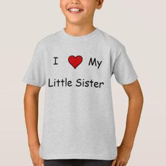 私は私の妹を愛します Tシャツ