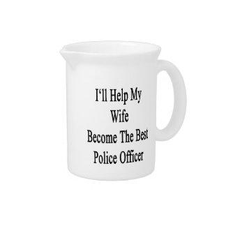私は私の妻が最も最高のな警官になるのを救済します ピッチャー