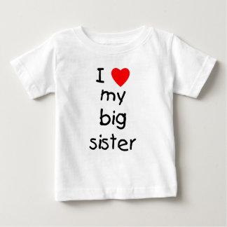 私は私の姉を愛します ベビーTシャツ