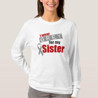 私は私の姉妹のための灰色を身に着けています Tシャツ