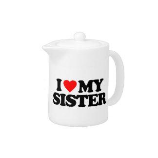 私は私の姉妹を愛します