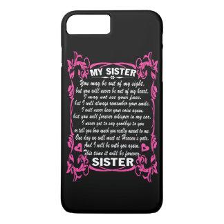 私は私の姉妹を愛します iPhone 8 PLUS/7 PLUSケース