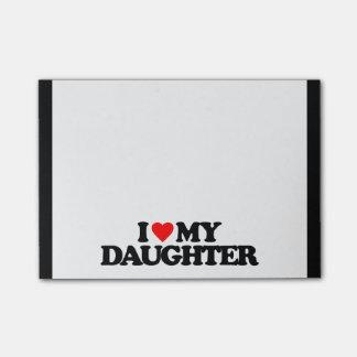 私は私の娘を愛します ポストイット