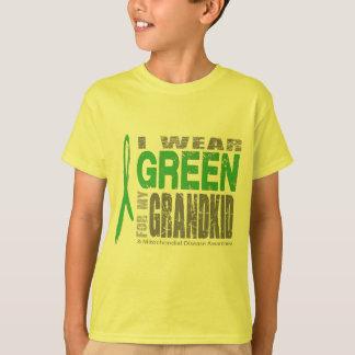 私は私の孫のための緑を身に着けています Tシャツ