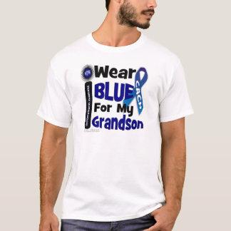 私は私の孫のための青を身に着けています Tシャツ