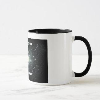 私は私の宇宙マグの黒の中心です マグカップ