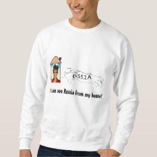 私は私の家からのロシアを見ることができます! スウェットシャツ