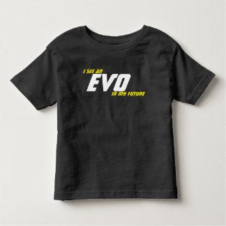 私は私の将来EVOを見ます トドラーTシャツ