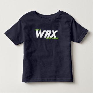 私は私の将来WRXを見ます トドラーTシャツ