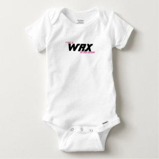 私は私の将来WRXを見ます ベビーワンシー
