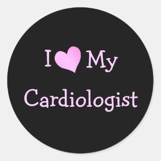 私は私の心臓学医を愛します ラウンドシール