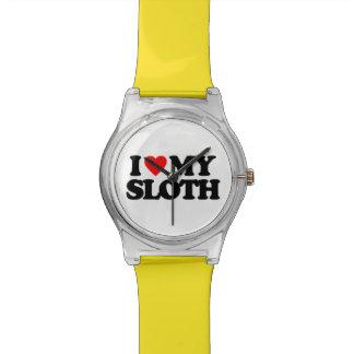 私は私の怠惰を愛します 腕時計