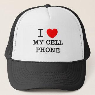私は私の携帯電話を愛します キャップ