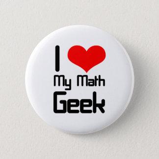 私は私の数学のオタクを愛します 5.7CM 丸型バッジ