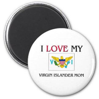 私は私の新しい島民のお母さんを愛します マグネット