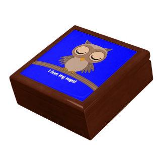 私は私の昼寝のフクロウを愛します ギフトボックス