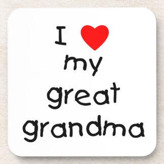 私は私の曾祖母を愛します コースター