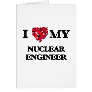 私は私の核エンジニアを愛します カード