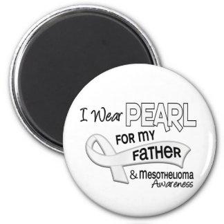 私は私の父42の中皮腫のための真珠を身に着けています マグネット