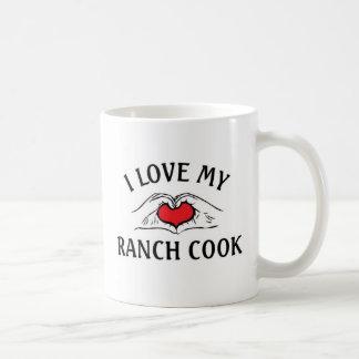 私は私の牧場調理師を愛します コーヒーマグカップ