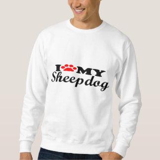 私は私の牧羊犬を愛します スウェットシャツ