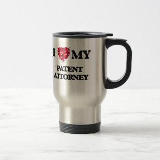 私は私の特許弁理士を愛します トラベルマグ