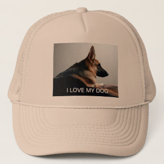 私は私の犬の帽子を愛します キャップ