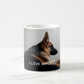 私は私の犬を愛します! マグ