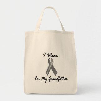 私は私の祖父1の脳腫瘍のための灰色を身に着けています トートバッグ