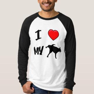 私は私の羊飼いを愛します Tシャツ