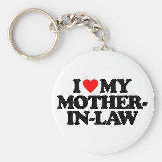 私は私の義母を愛します キーホルダー
