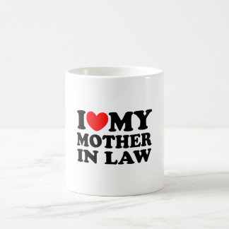 私は私の義母を愛します コーヒーマグカップ