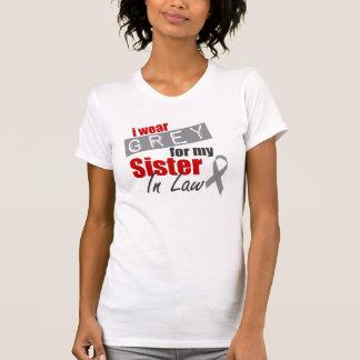 私は私の義理の姉妹のための灰色を身に着けています Tシャツ