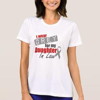 私は私の義理の娘のための灰色を身に着けています Tシャツ