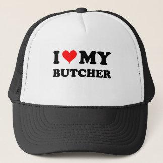 私は私の肉屋を愛します キャップ