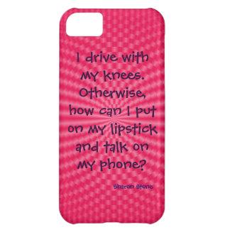 私は私の膝と運転します。 iPhone 5の場合 iPhone5Cケース