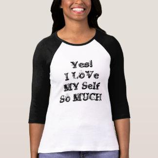 私は私の自己のTシャツを愛します Tシャツ