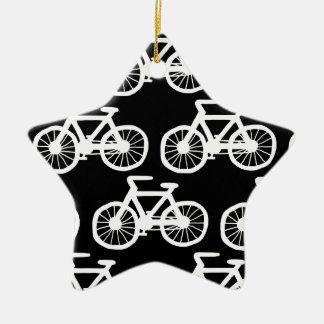 私は私の自転車に乗りたいと思います セラミックオーナメント