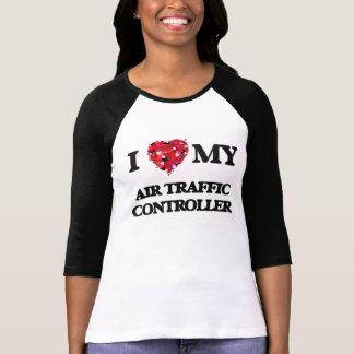 私は私の航空交通管制官を愛します Tシャツ