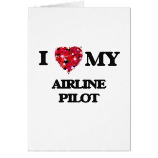 私は私の航空会社のパイロットを愛します カード