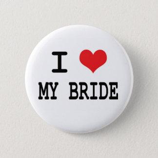 私は私の花嫁ボタンを愛します 缶バッジ