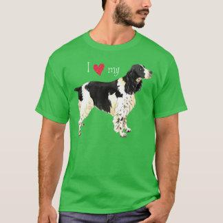 私は私の英国のスプリンガースパニエルを愛します Tシャツ